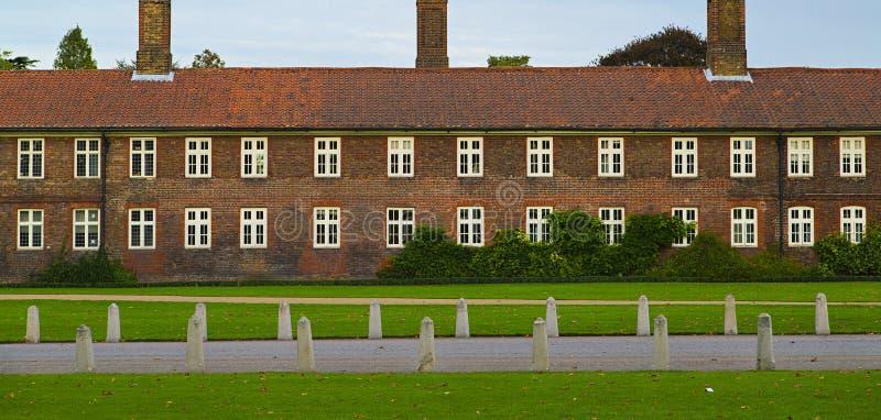 Palacio del Hampton Court fotos de archivo