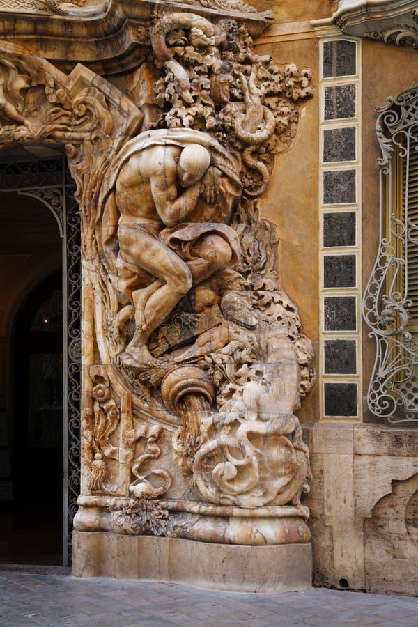Palacio del Marques de Dos Aguas, Valencia, Spain royalty free stock photo