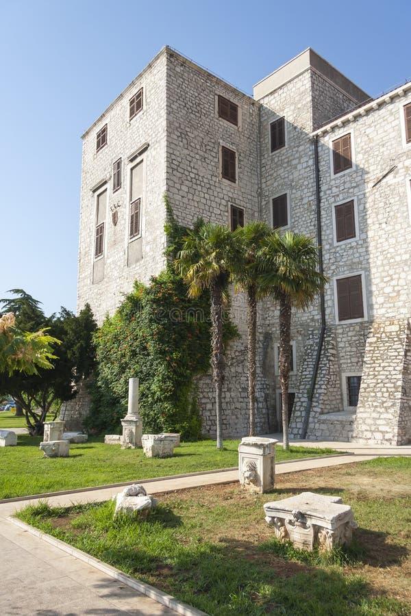 Palacio del rector, Sibenik fotografía de archivo libre de regalías