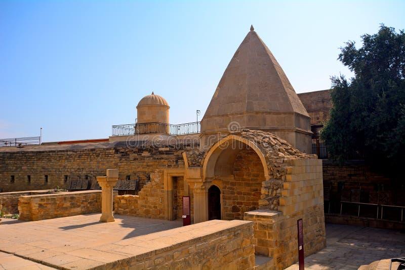 Palacio del Sah de Shirvan, Baku, Azerbaijan imagenes de archivo