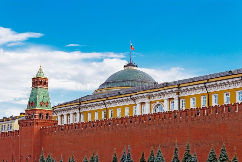 Palacio del senado en Moscú el Kremlin fotos de archivo libres de regalías