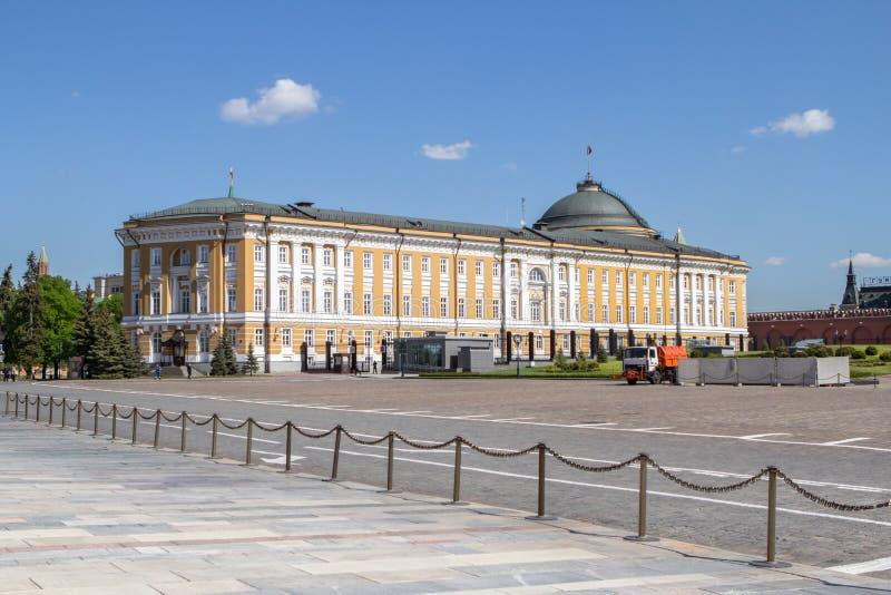 Palacio del senado en Moscú, Rusia imágenes de archivo libres de regalías