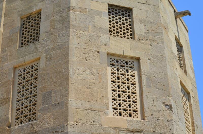 Palacio del Shirvanshahs en la ciudad vieja de Baku, capital de Azerbaijan imagen de archivo