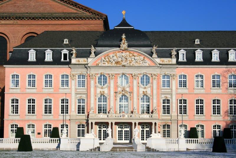 Palacio del Trier foto de archivo