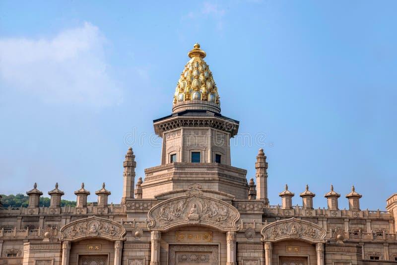 Palacio del Vaticano de Lingshan en la montaña de Lingshan foto de archivo libre de regalías