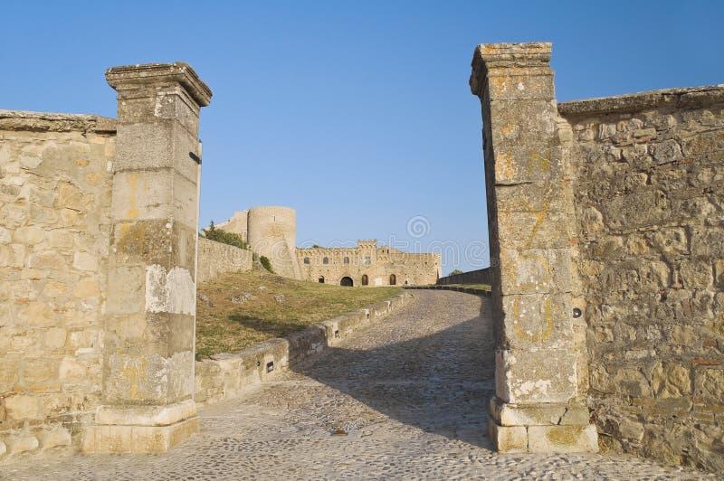 Palacio ducal. Bovino. Foggia. Apulia. imagen de archivo libre de regalías