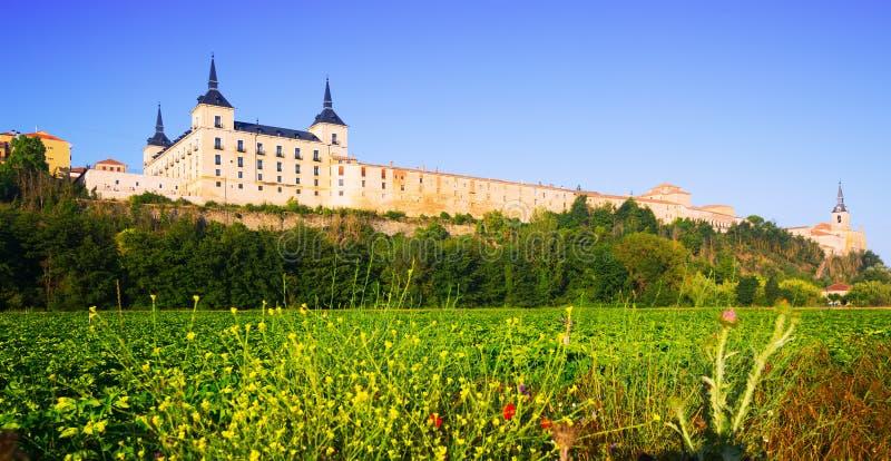 Palacio ducal en Lerma en Lerma fotos de archivo libres de regalías