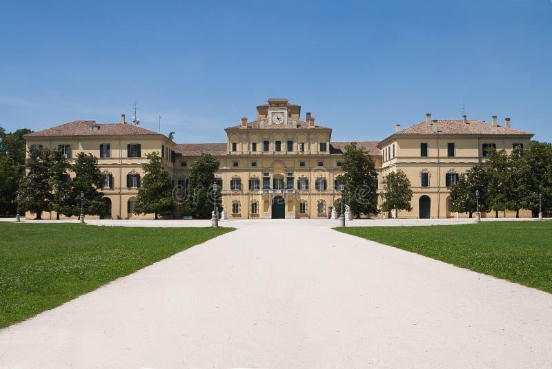 Palacio ducal. Parma. Emilia-Romagna. Italia. fotos de archivo libres de regalías