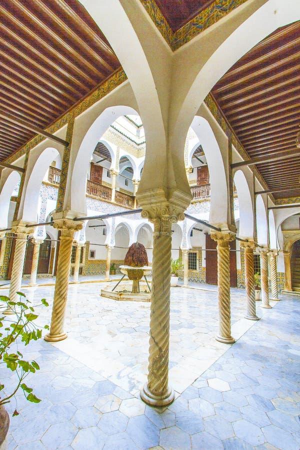 Palacio en Argel imagen de archivo