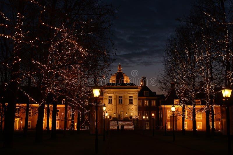 Palacio en Huis diez Bosch imagen de archivo