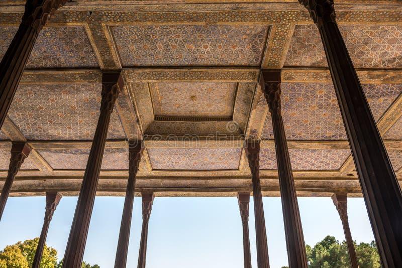 Palacio en Isfahán fotografía de archivo libre de regalías