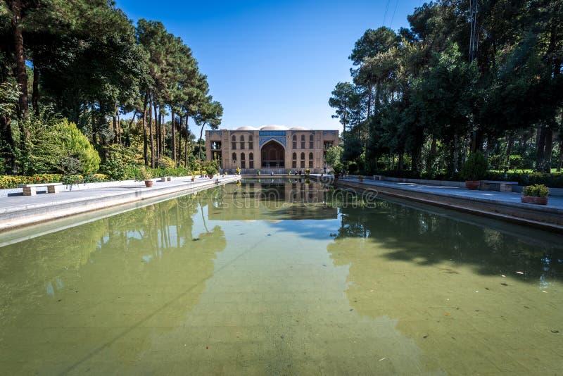Palacio en Isfahán imágenes de archivo libres de regalías