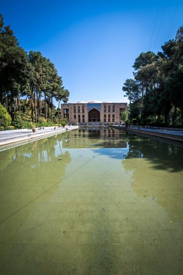 Palacio en Isfahán imagen de archivo