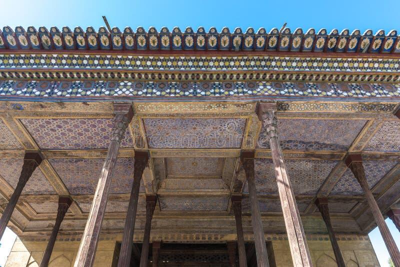 Palacio en Isfahán fotografía de archivo