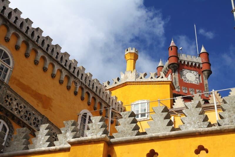 Palacio en Sintra, Portugal fotografía de archivo libre de regalías