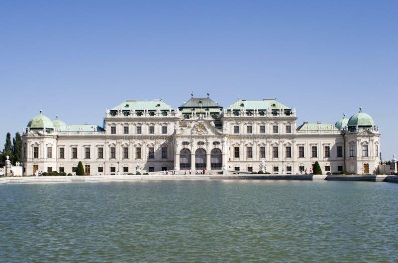 Palacio en Viena foto de archivo