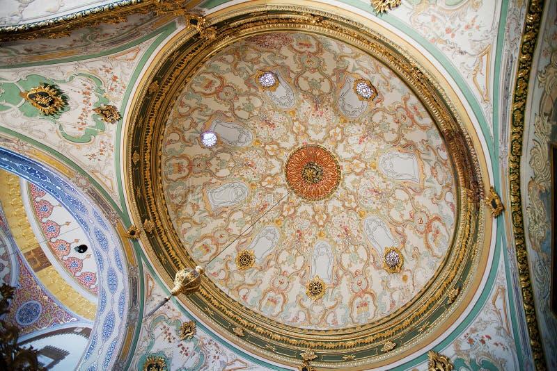Palacio Estambul de Topkapi imagen de archivo libre de regalías