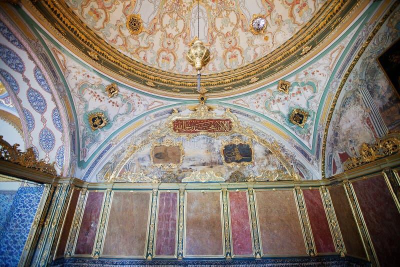 Palacio Estambul de Topkapi fotografía de archivo libre de regalías