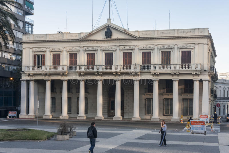 Palacio Estevez Montevideo Uruguay images libres de droits