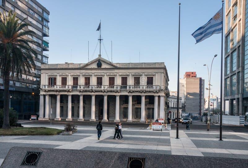 Palacio Estevez Montevideo Uruguay photos stock