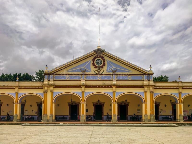 Palacio Gemeentelijk in Ocotlan, Oaxaca royalty-vrije stock foto's