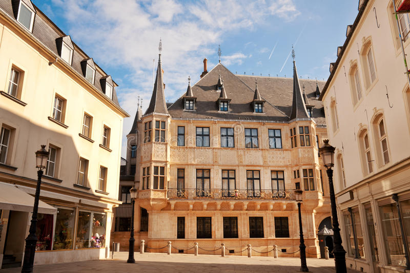Palacio granducal fotos de archivo