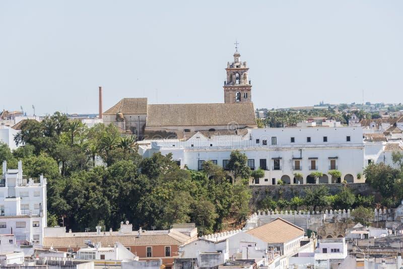 Palacio herzogliches De Medina Sidonia, Sanlucar de Barrameda, Cadiz, S lizenzfreie stockfotografie