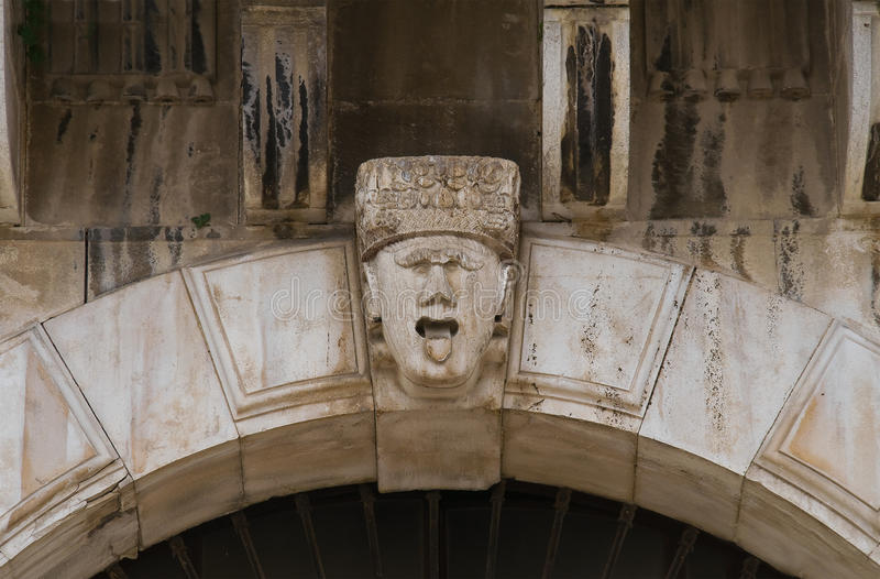 Palacio histórico andria Puglia Italia fotos de archivo