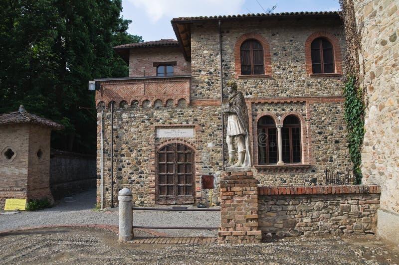 Palacio histórico de Emilia-Romagna. Italia. imagenes de archivo