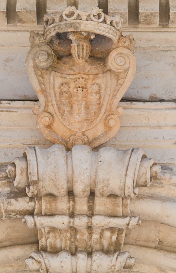 Palacio histórico Martina Franca Puglia Italia imágenes de archivo libres de regalías