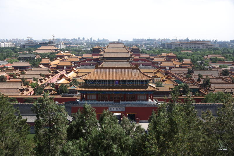Palacio imperial (ciudad prohibida) fotos de archivo