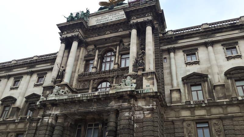Palacio imperial de Hofburg fotos de archivo libres de regalías
