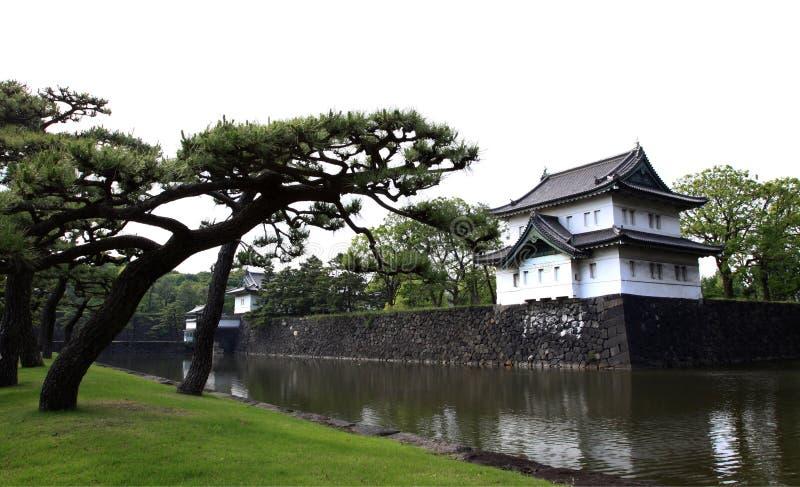 Palacio imperial de Tokio fotografía de archivo libre de regalías