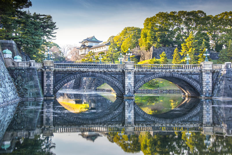 Palacio imperial Japón imagen de archivo libre de regalías