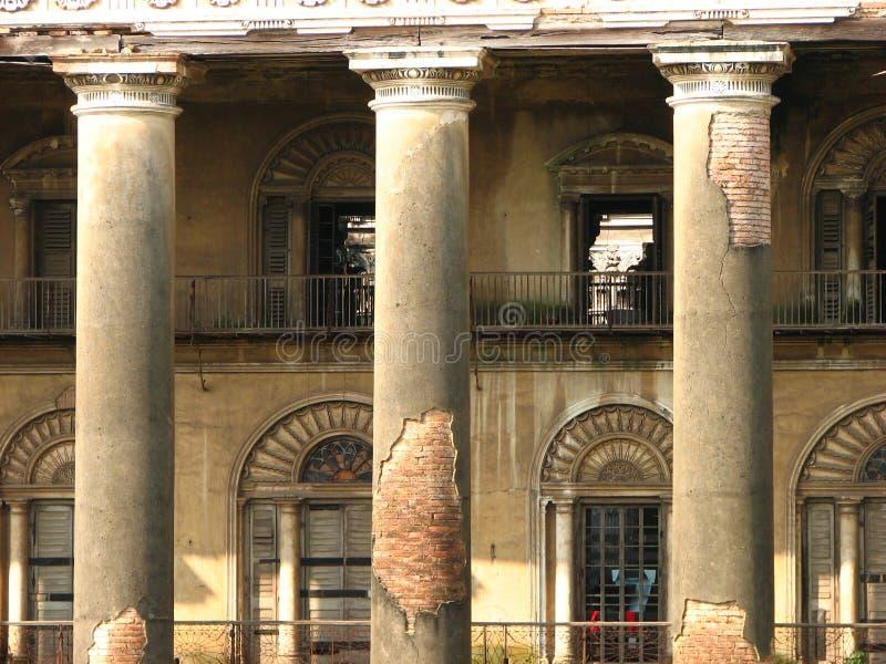 Palacio indio dilapidado viejo foto de archivo libre de regalías