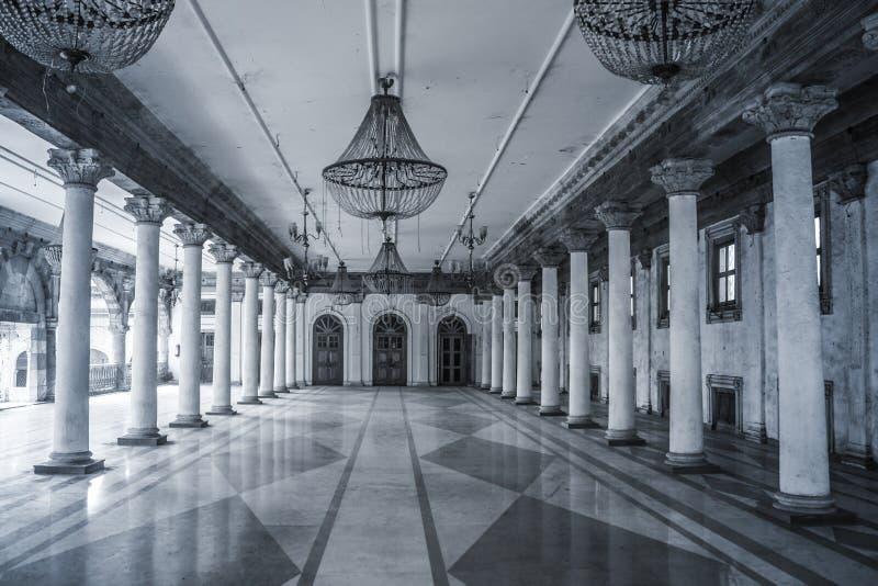 Palacio interior la India de Rajwada fotos de archivo