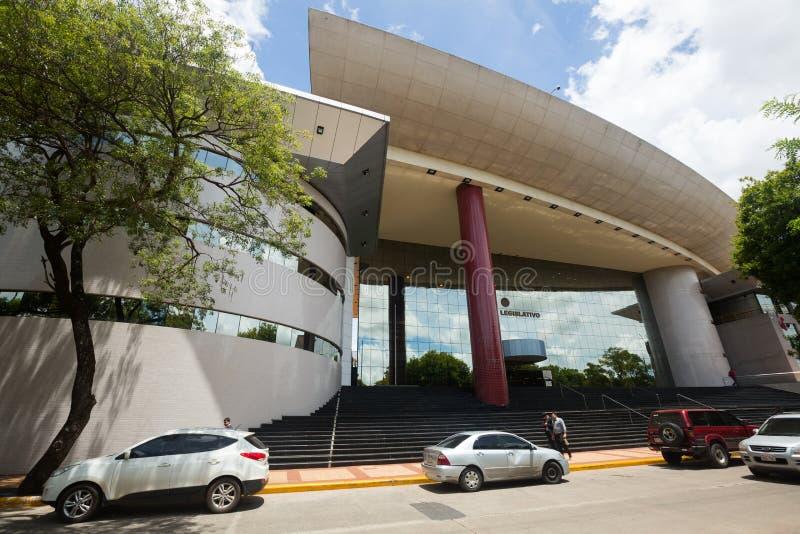 Palacio Legislativo en Asuncion foto de archivo libre de regalías