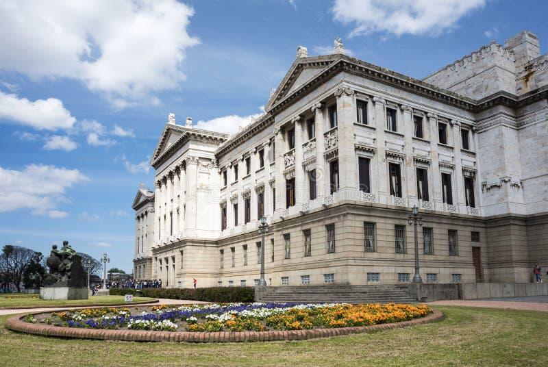 Palacio Legislativo i Montevideo, Uruguay arkivfoto