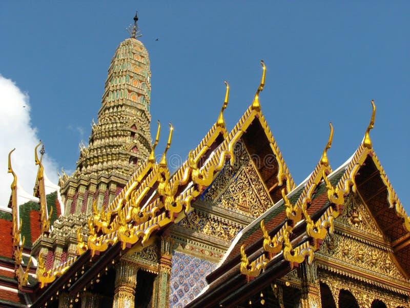 Palacio magnífico Bangkok foto de archivo