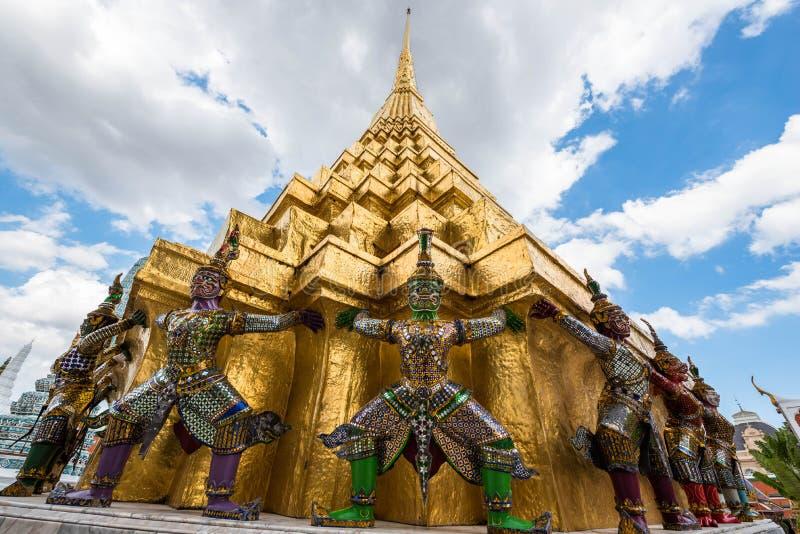 Palacio magnífico Bangkok - Tailandia fotografía de archivo