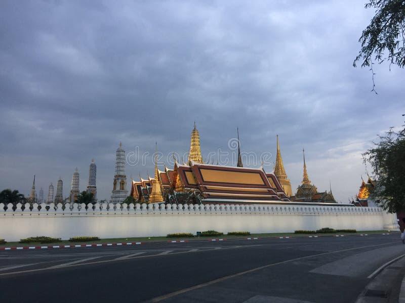 Palacio magnífico de Bangkok fotografía de archivo libre de regalías
