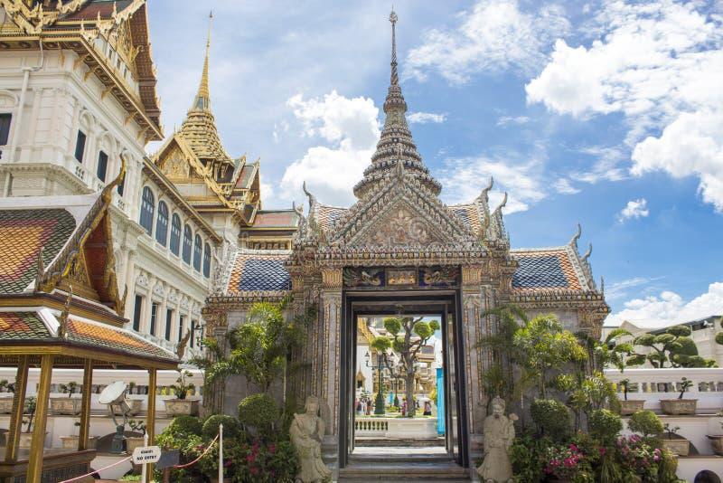 Palacio magnífico en Bangkok fotografía de archivo