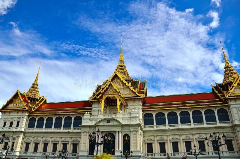 Palacio Magnífico Tailandia Fotografía de archivo libre de regalías