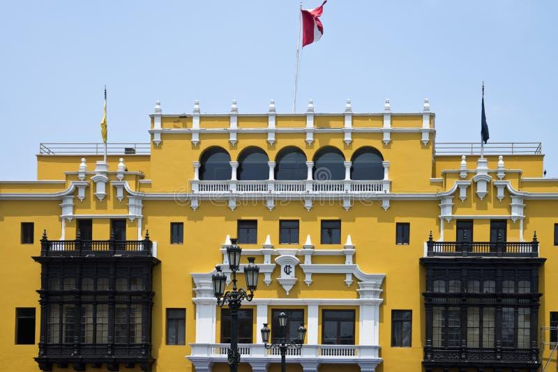 Palacio municipal de Lima fotografía de archivo libre de regalías
