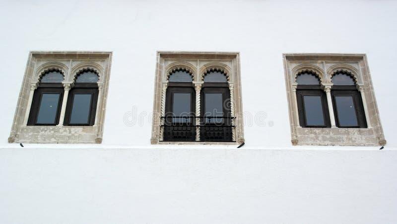 Palacio nacional de Sintra, Sintra, Portugal imagen de archivo libre de regalías