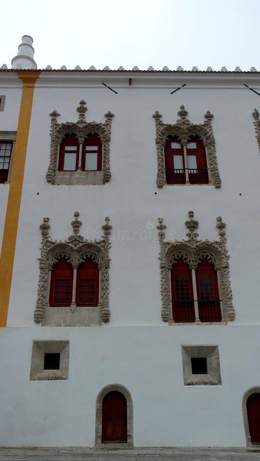 Palacio nacional de Sintra, Sintra, Portugal fotografía de archivo