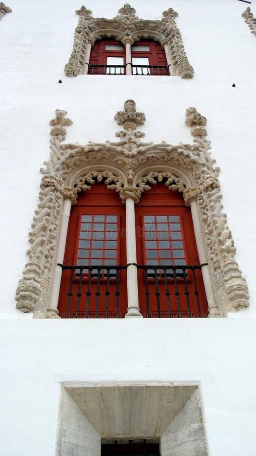 Palacio nacional de Sintra, Sintra, Portugal fotos de archivo libres de regalías