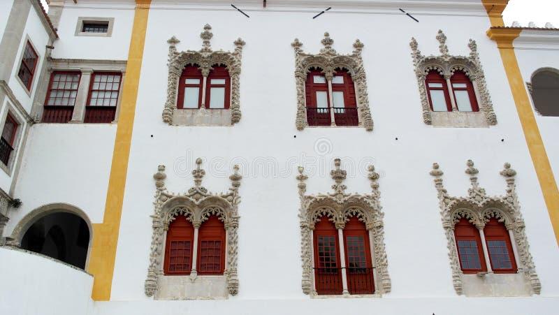 Palacio nacional de Sintra, Sintra, Portugal fotografía de archivo libre de regalías