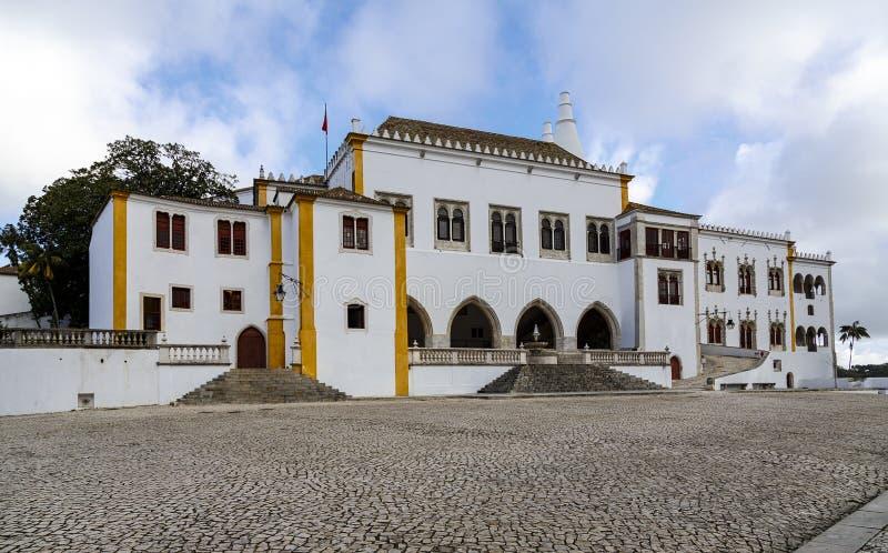 Palacio nacional Portugal de Sintra fotos de archivo libres de regalías