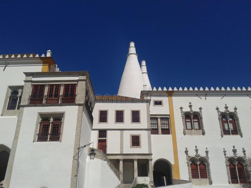 Palacio Nacional Sintra - Португалия стоковые фото